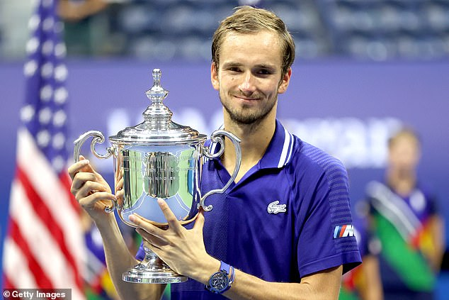 Smashed it!Daniil Medvedev eventually took the win after three sets, beating one of the 'Big Three' Novak Djokovic in a sensational final