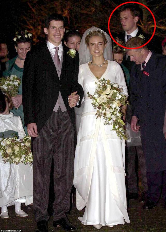 Raducanu has been training in recent weeks under new coach Andrew Richardson (circled), who was a contemporary of Henman and even served as best man at his wedding to Lucy Heald in 1999 in Odiham, Hampshire
