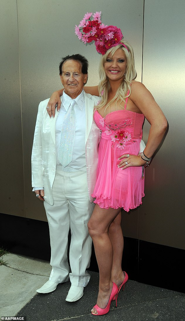 Split: Geoffrey and Brynne's relationship was captured in a short-loved reality TV show called Brynne: My Bedazzled Life from 2012 to 2014. But the couple called it quits, separating in 2014 and finalising their divorce in April 2015.. Pictured in 2011
