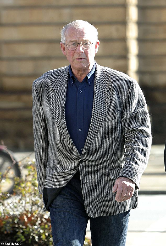 Rogerson has always maintained Smith was no more than a valuable informant for the Armed Hold-Up Squad. Smith insisted the pair became partners in crime. Rogerson is pictured in 2004