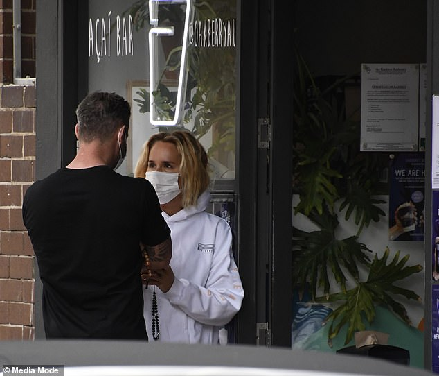 Back on? Their rumoured reunion comes after Pip recently ended her relationship with Bondi restaurateur Cameron Northway, who she dated for four months after splitting with Michael
