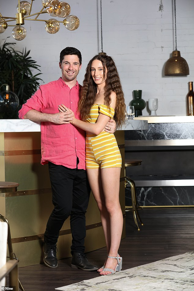 Over:Patrick ended his relationship with Belinda Vickers earlier this year after the couple found love together on the series