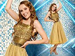 EastEnders actress Rose Ayling-Ellis dazzles in a gold sequin dress for professional Strictly snap
