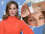Kate Beckinsale updates fans from hospital bed after being rushed to emergency room in Las Vegas