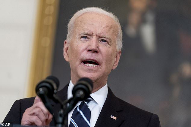 House Democrats are plotting a huge tax raid on the wealthy, businesses and investors to raise $2.9billion to cover the cost of President Joe Biden's domestic plans
