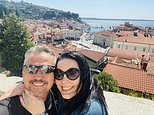 Emmerdale star Lisa Riley looks smitten with fiancé Al on sun-soaked travels in loved-up snaps
