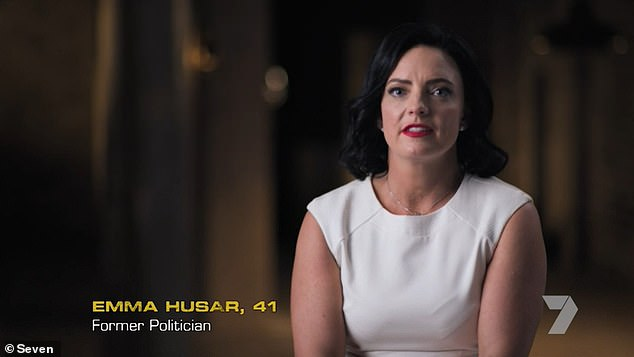 Tough:Emma Husar (pictured) hopes her appearance on SAS Australia will prove to her detractors just how strong she really is