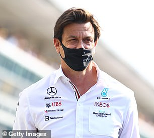 Mercedes team principal Toto Wolff (above) believes Verstappen made a 'tactical foul'