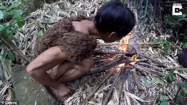 Lang lived with his father for decades in the forest of what is now known as the Tra Bong District before they were found by locals collecting firewood