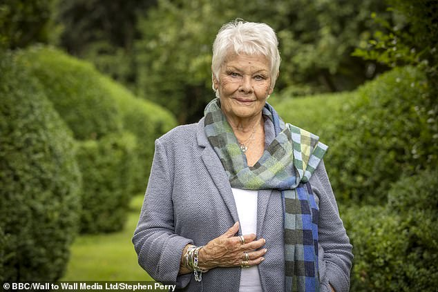 What a lineup! Dame Judi Dench, 86, leads the stars taking part in a new series of Who Do You Think You Are? as it returns to BBC One this October