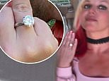 A look at Britney's bespoke engagement ring from Sam Asghari