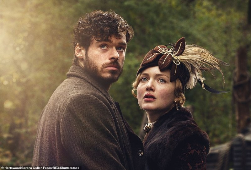 Adaption:The last film version was in 2015 and featured Borgias star Holliday Grander in the title tole and Game of Thrones' Richard Madden as her gamekeeper lover (pictured)