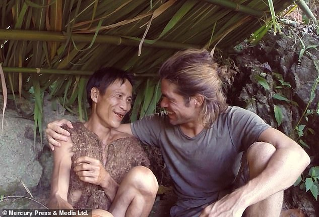 Lang had lived a remarkable life and made headlines across the globe - but his friend Alvaro Cerezo, an explorer who returned to the jungle with Lang to live there for a week together, believes discovering 'modern life' probably had fatal consequences for the real life Tarzan