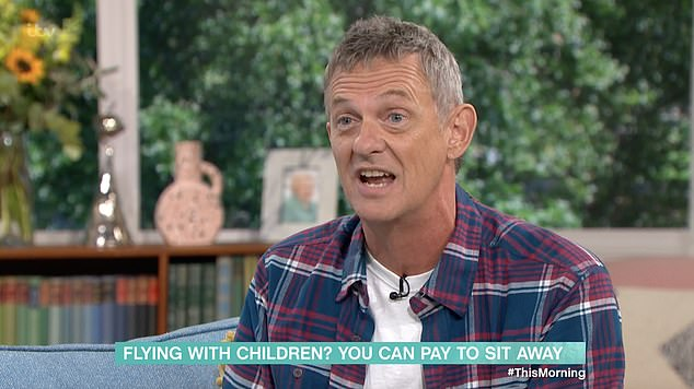 TV presenter Matthew Wright appeared on This Morning to discuss Japan Airline's booking policy - which he branded a 'disaster'