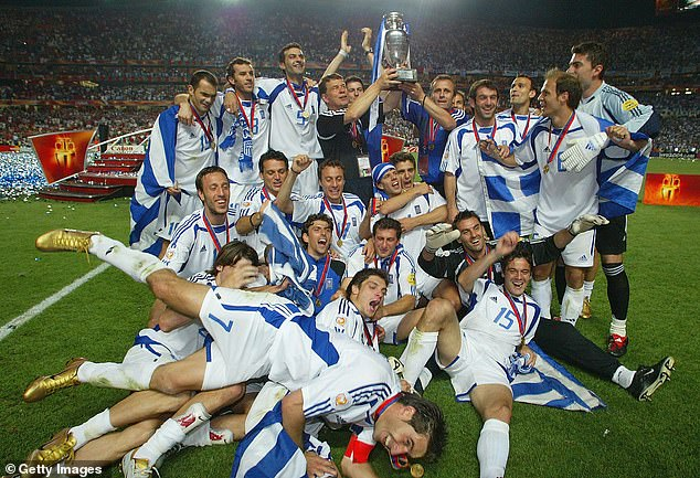 150-1 long shots Greece emulated Denmark by repeating a shock win at the Euros in 2004