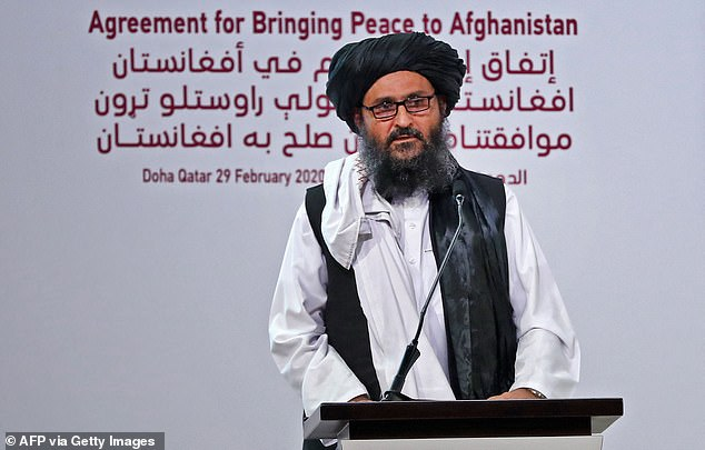 Baradar, one of the Taliban's founding members (file image), has been seen in public only a handful of times since arriving back in Afghanistan last month