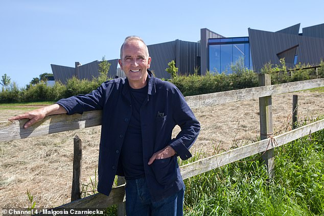 Kevin (pictured) has since praised the house as being 'on another level' in terms of 'scale, ambition and cost'.