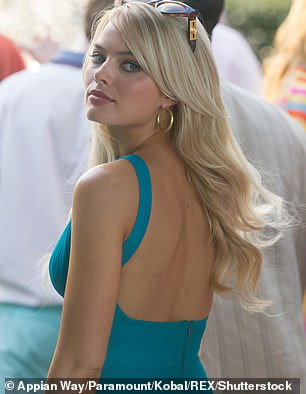 Pictured:Margot in Wolf of Wall Street