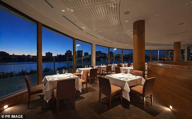 Conspiracy theorists and Covid sceptics flooded the Instagram account of Aria restaurant (pictured, its Brisbane branch) with abusive messages