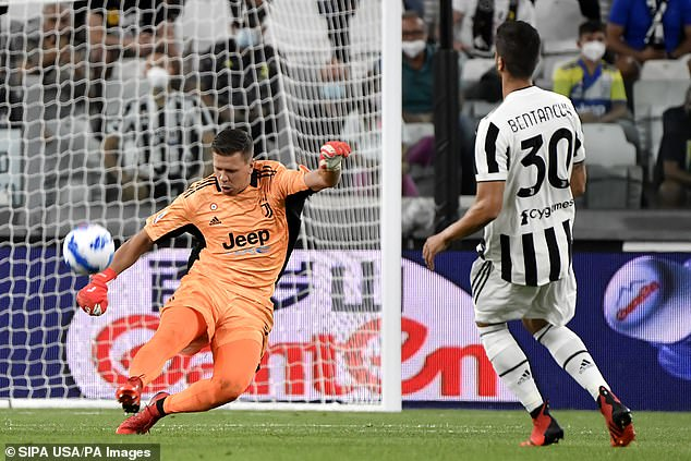 Szczesny's shaky performances in goal are causing panic in the Juventus defence