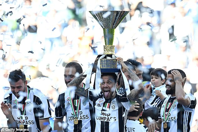 Six more pieces of silverware in two seasons at PSG followed after he won the double in his one and only season at Juventus