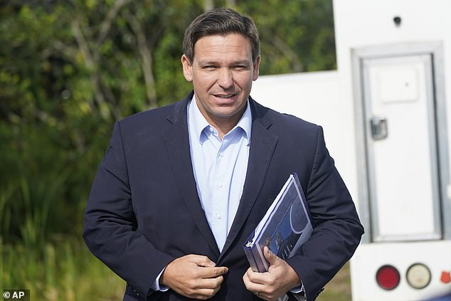 DeSantis' Nebraska appearance is one of at least 12 out of state trips he's taken since May, as he basks in his newfound popularity and sets himself up well-positioned for a potential run in 2024 should Trump sit out the race.
