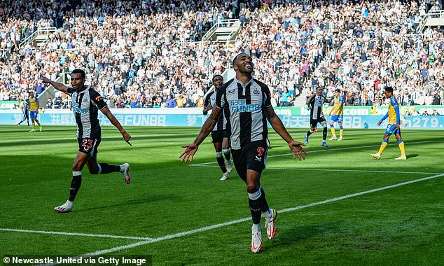Wilson started the season well as he scored in games against Southampton and West Ham