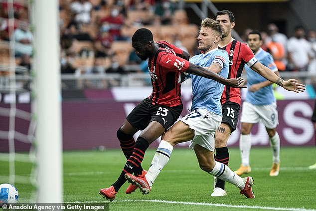 Tomori has become an instant hit with the Rossoneri for his pace and courage at the back