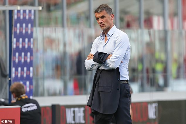 Tomori is being helped by AC Milan sporting director and a club legend in Paolo Maldini