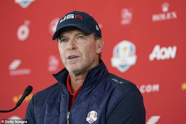 Team USA Captain Steve Stricker boasts the younger team and they will eye a blowout victory