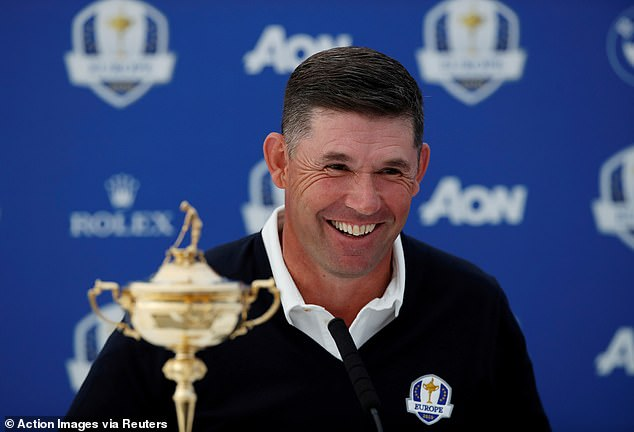Padraig Harrington will have to rely on Team Europe's experience throughout the tournament