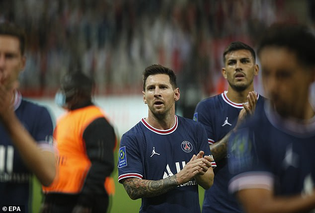 Lionel Messi has also been on the move this season, joining PSG from boyhood club Barcelona