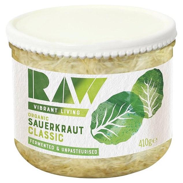 Raw Sauerkraut Classic, 410g, £4.39, ocado.com
