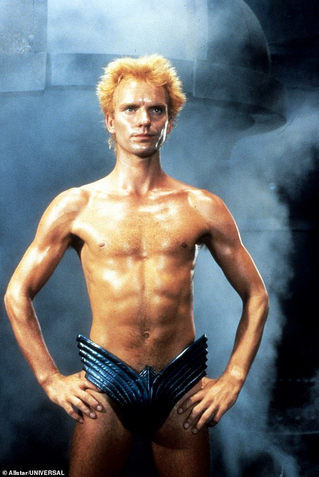 Pictured, Sting who appeared in the 1984 adaptation of Dune, directed by David Lynch
