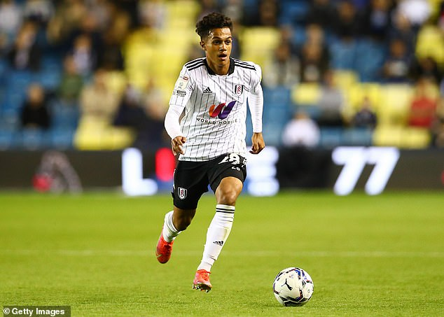 The 19-year-old was born in Lisbon but moved to England to join Fulham's academy in 2014