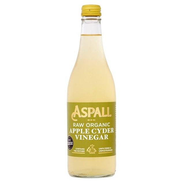 Espel Raw Organic Apple Cider Vinegar, 500ml, £2.50, tesco.com