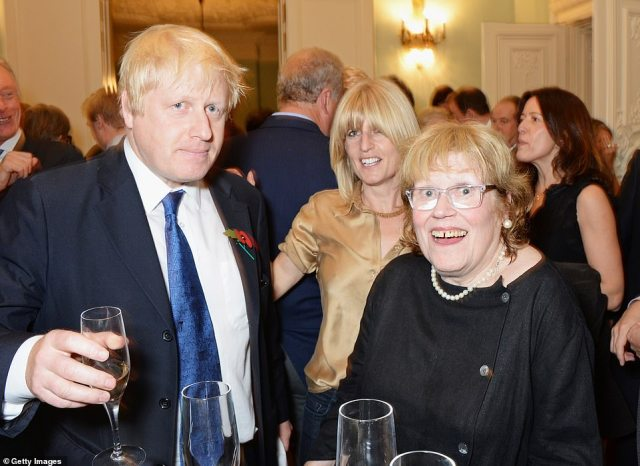 Boris Johnson was in mourning last night after the death of his mother, aged 79. Charlotte Johnson Wahl died 'suddenly and peacefully', according to family members