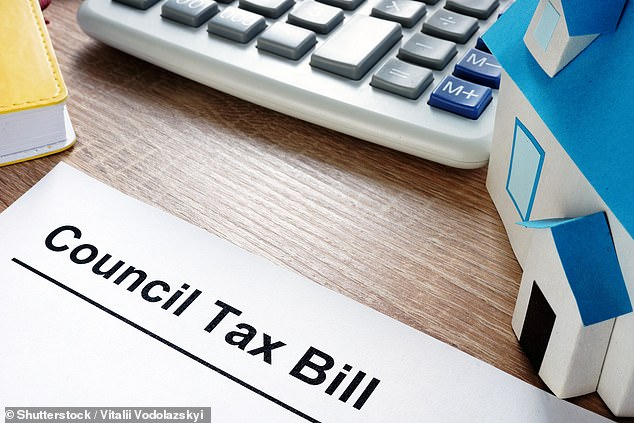 Around £2billion of the £14billion to be raised by the 1.25 percentage point tax rise, aiming to relieve pressure on NHS waiting lists caused by Covid, will be swallowed up by higher public sector wage bills (stock image)
