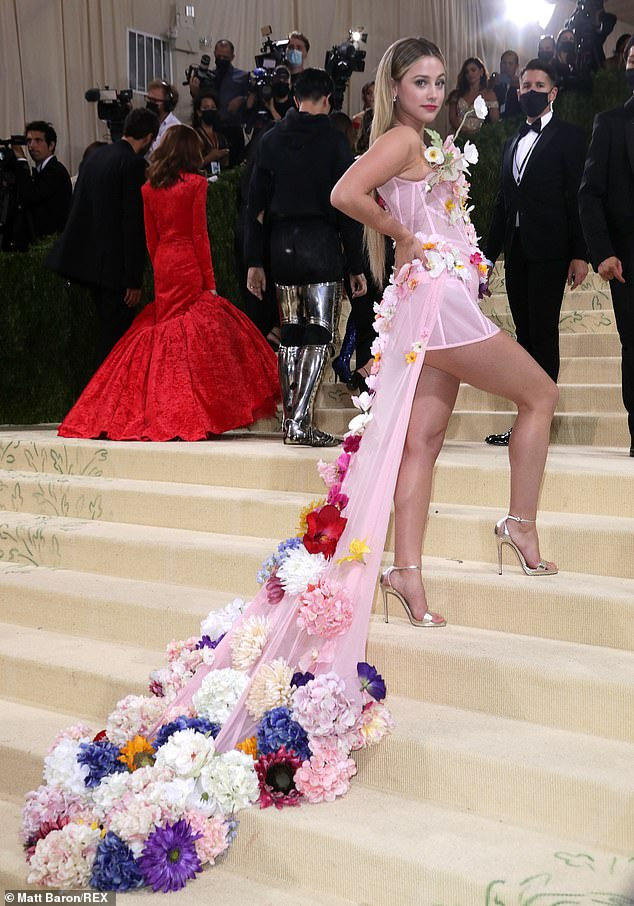 Birthday girl:This year's Met Gala happened to fall on Lili's 25th birthday, which is September 13