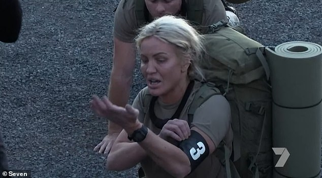 What happened: Alicia was accused of not taking the course seriously and was grilled by chief drill sergeant Ant Middleton, who ordered the celebrities to do the bee strong challenge, which led to Brynne quitting