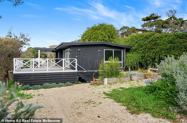 Regional areas close to capital cities are in demand withMornington Peninsula, south-east of Melbourne, saw an 8.2 per cent monthly increase to $489 a week (pictured is a house at Blairgowrie)