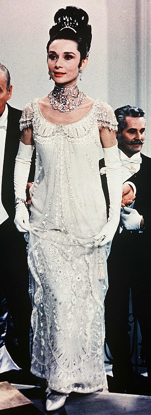 Inspiration: Audrey Hepburn's ball gown from 1964's My Fair Lady, above