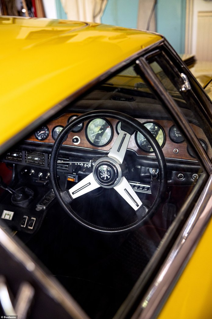 The sole proprietor ordered the Grifo directly from the factory, specified to add a special Blaupunkt radio suitable for reception in Rhodesia where he was living at the time.
