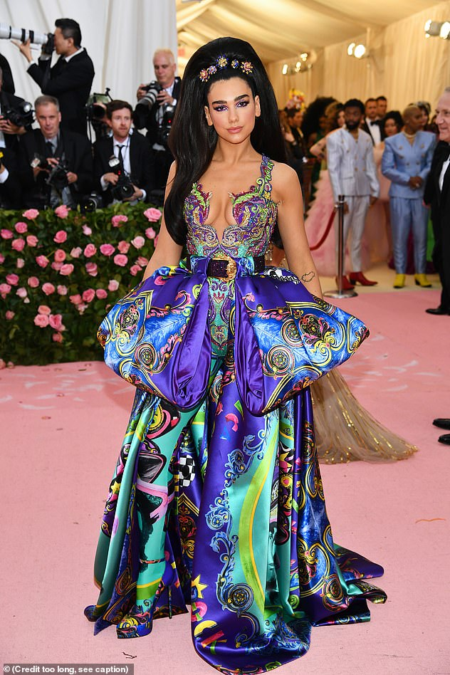 Dua Lipa is reportedly skipping out on this year's Met Gala because she is filmingMathew Vaughn's upcoming thriller Argylle in the UK