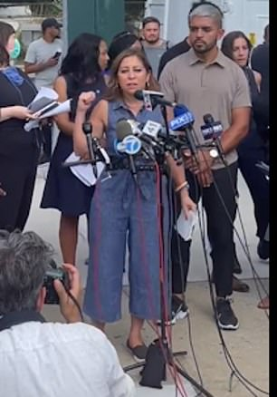 Assemblywoman Jessica González-Rojas says she witnessed an attempted suicide during the Rikers tour