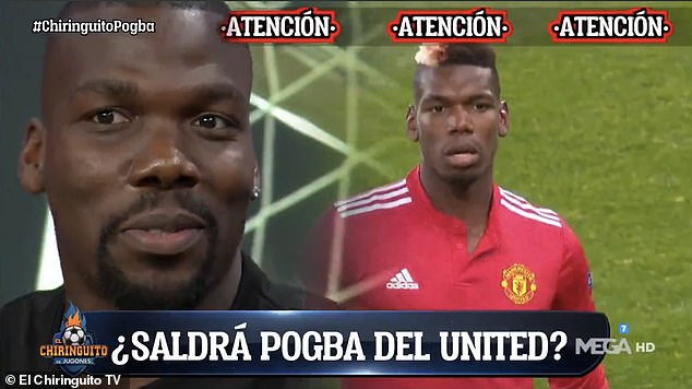 Paul Pogba's brother, Mathias, says the midfielder's Manchester United future will be decided when it's 'the right time'