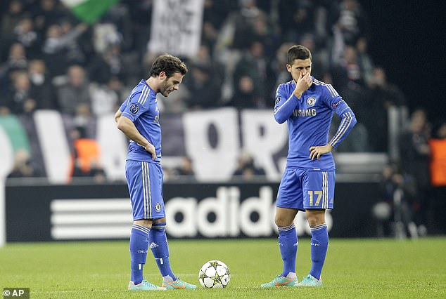 Chelsea suffered a 3-0 defeat by Juventus, a result which had sent the holders crashing out