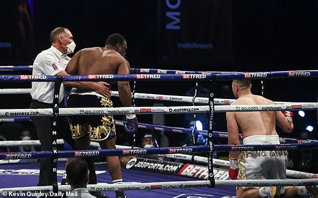 The British heavyweight has called for a rematch, after knocking Parker down in the first round