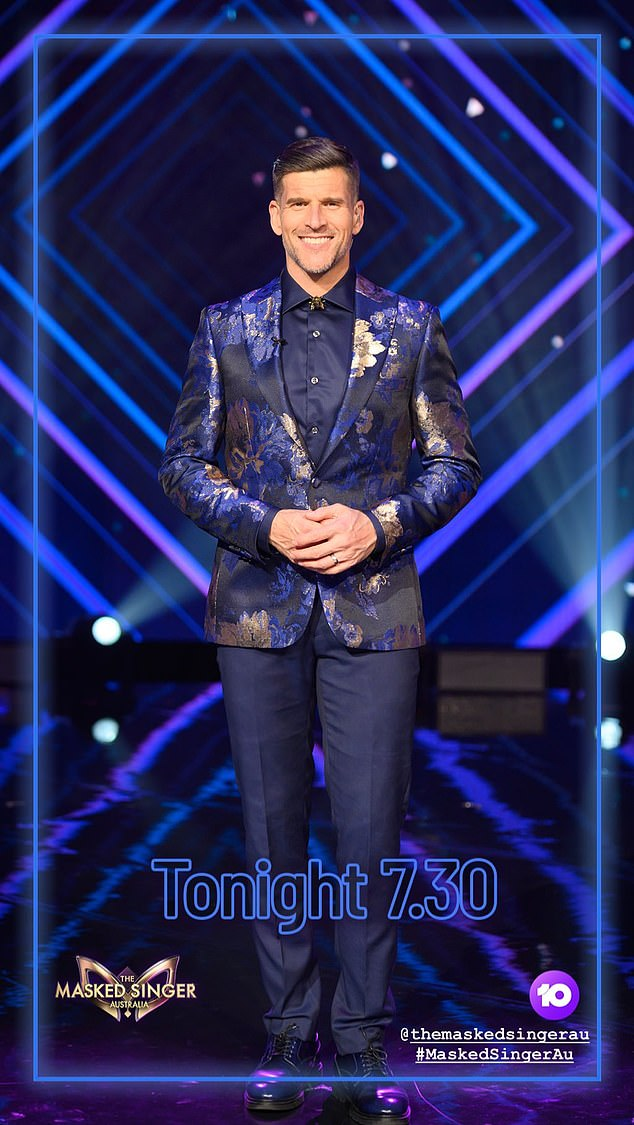 Response:Osher Günsberg (pictured) has hit back at a troll who panned his hosting role on The Masked Singer Australia. On Monday, the 47-year-old replied to a Tweet that was critical of the seasoned TV star