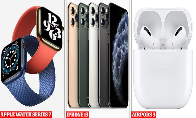 During the event, Apple is expected to launch a host of exciting new products including the iPhone 13, Apple Watch Series 7 and AirPods 3.